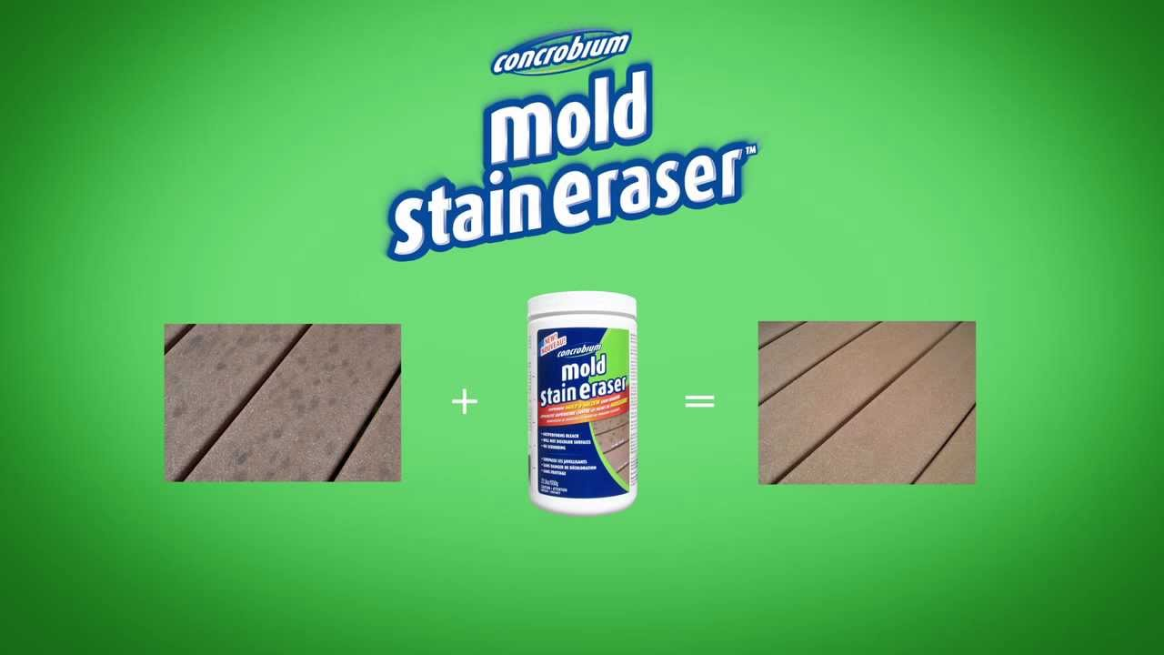 How To Get Rid Of Black Mold Stains New Concrobium Mold