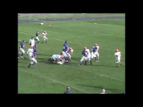 Ticonderoga - Plattsburgh JV Football 10-17-10