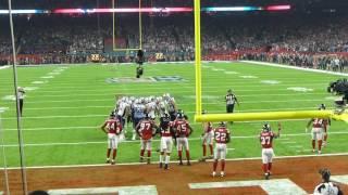 Super Bowl LI (51): James White/Patriots Game Winning OT Touchdown/TD! (End Zone View)
