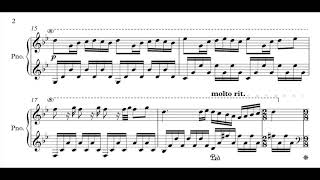 Chopin Spring Waltz (Mariage d'amour) [sheets]
