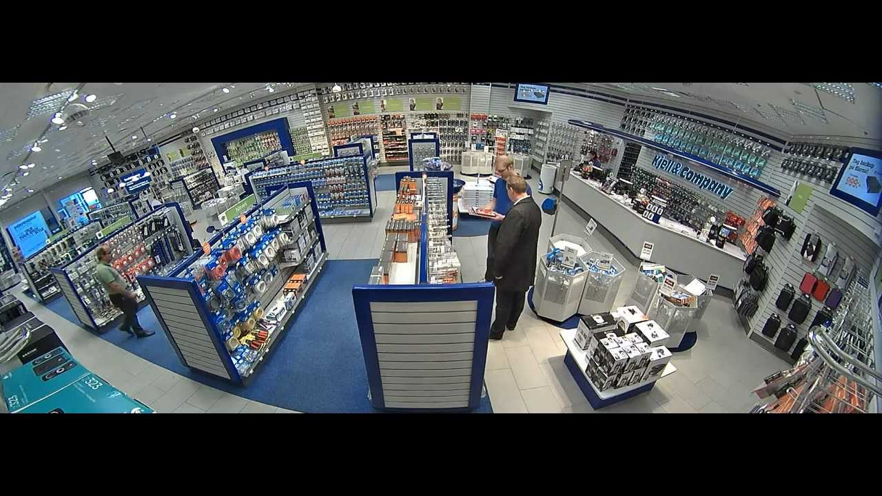 Panoramic View With Axis M3007 Pv Network Camera Youtube