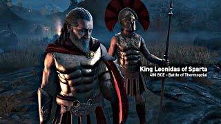 Assassin's Creed Odyssey - Opening Cutscene Leonidas & 300 Spartans (Assassin's Creed 2018) 4K HD
