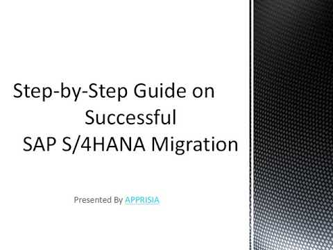 A Step-by-Step Guide on Successful SAP S/4HANA Migration