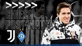 🎙? Chiesa Nets First Juve Goal! | Post-Match Interview | Juventus 3-0 Dynamo Kyiv  | Champions League