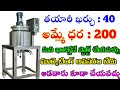 New Small Business Ideas In Telugu || Small Business Ideas In Telugu || Latest Business Ideas