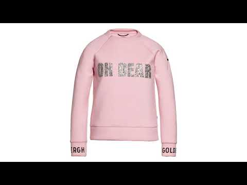 GOLDBERGH Oh Dear Womens Sweater in Powder Pink
