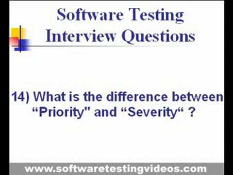 Software Testing Interview Questions & Answers