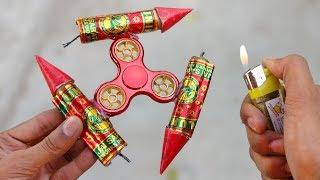 Rocket vs Fidget Spinner : Experiment
