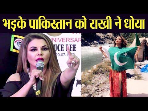 Rakhi Sawant's befitting reply to Pakistan user, who trolled her