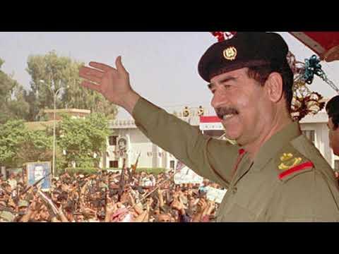 screenshot of youtube video titled Tankbusters, Part 3: Saddam Hussein