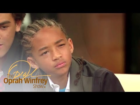 Jaden Smith Says His First Onscreen Kiss Was No Big Deal | The Oprah Winfrey Show | OWN