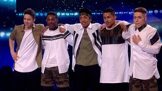 BoyBand - Britain's Got Talent 2015 Semi-Final 4