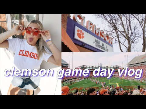 Being a Clemson Student for the Weekend | tour & game day!