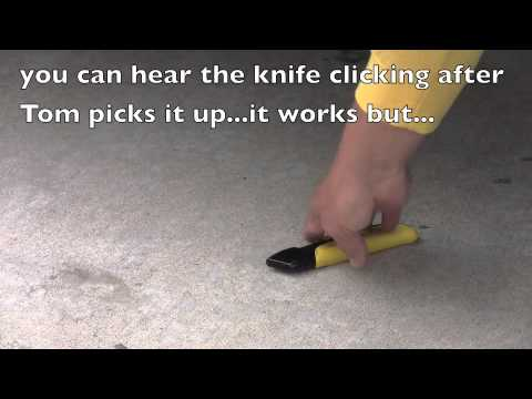 Safecutters Presents:  The Titan Auto Retracting Utility Knife