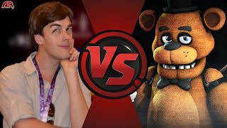 MatPat vs Freddy Fazbear (Game Theory vs Five Nights at Freddy's) | AnimationRewind Animation