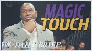 Magic Johnson, Carmelo Anthony, Tom Brady (7.20.18)   FOX SPORTS DAILY BRIEF