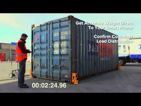 Bison Weighing Jack - container weighing made simple