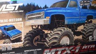 MST MTX-1 Monstertruck Review and Testdrive