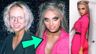 1 hour glam transformation *EXTREME CATFISH*