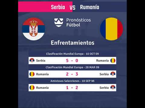Serbia vs Rumania