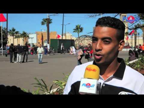 شاب مغربي ينتقد بشدة حال