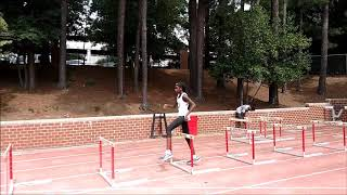 Hurdle Training - Drilling With Kyla Crumpler