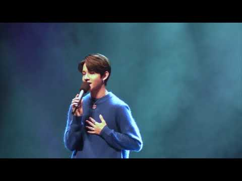 [20171025] Samuel (사무엘) BOF 팬미팅 Love Yourself