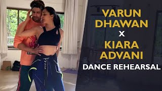 Watch: Kiara Advani and Varun Dhawan dance rehearsal..
