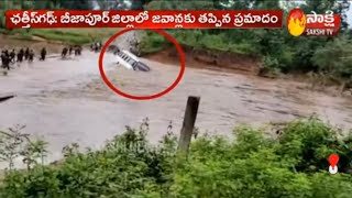 Watch: Bus carrying Jawans slipped in river in Chhattisgar..