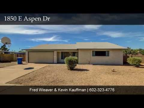 1850 E Aspen Dr, Tempe, AZ 85282 Presented by Group 46:10 with Keller Williams Realty Phoenix