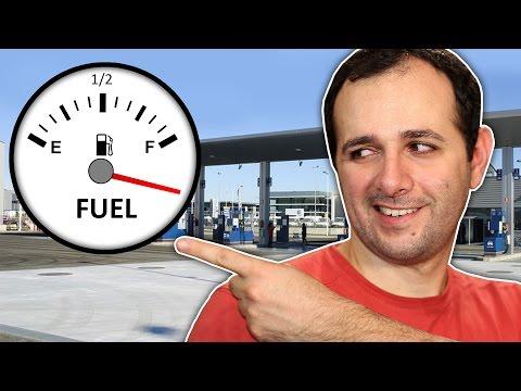 No tanque do seu carro cabe mais combustível do que o descrito no manual