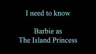 Barbie:The Island Princess