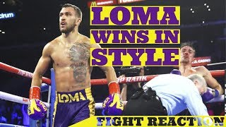 LOMACHENKO ENDS CROLLA'S TITLE DREAMS - NOW WOULD LIKE MIKEY GARCIA! (NO FOOTAGE)
