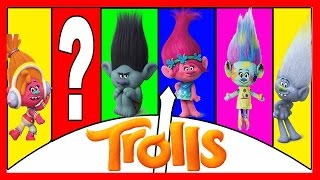 Trolls Movie Piggy Bank Game - Learn Colors and Learn Counting with Paw Patrol | Ellie Sparkles