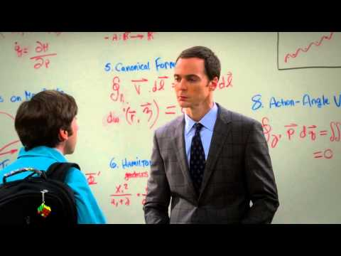 The Big Bang Theory - Is Howard smart enough? Sheldon as a Professor S08E02 [HD]