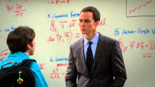The Big Bang Theory - Is Howard smart enough? Sheldon as a Professor S08E02 [HD]