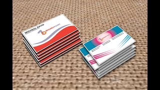 How to create a shop  business card by Adbobe Illustrator