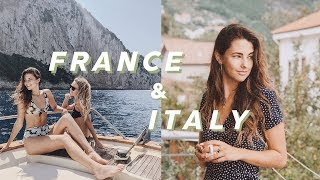 Travel With Me to the South of France and Italy!