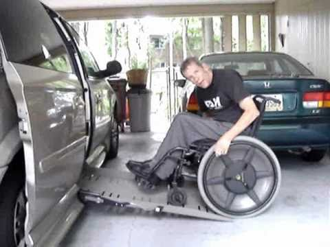 MagicWheels.com User Testimonial - Greg F C6 SCI using MAGIC WHEELS