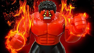 LEGO Origins of Red Hulk