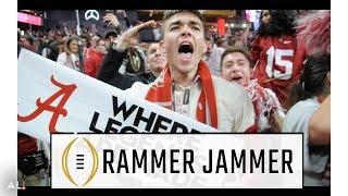 Alabama fans go wild, sing
