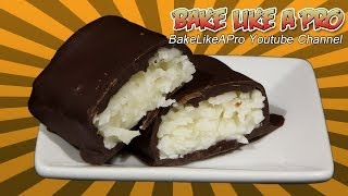 Super Easy Chocolate Bounty Bars Recipe !  / Mounds / Almond Joy