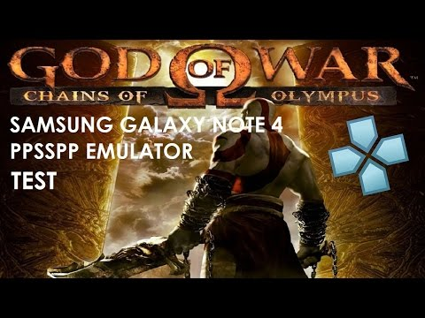 Ppsspp settings for god of war