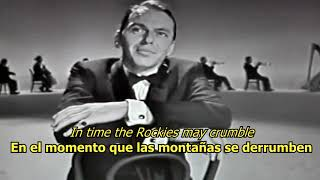 Our love is here to stay - Frank Sinatra (LYRICS/LETRA) [Original] [50s]