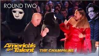 Marc Spelmann: The Most SHOCKING End To a Magic Act EVER! @America's Got Talent Champions