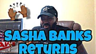 Sasha Banks Returns And Attacks Natalya & Becky Lynch Full Segment - Raw 12th Aug 2019 (REACTION)