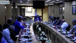 بالفيديو: محافظ اسوان يعقد اجتماع لمساندة quotنادى أسوانquot ب ...