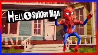 HELLO SPIDERMAN | Hello Neighbor Mod