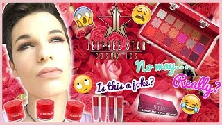 Jeffree Star Cosmetics Entire Love Sick Collection Review