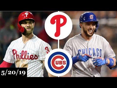 Philadelphia Phillies vs Chicago Cubs - Full Game Highlights   May 20, 2019   2019 MLB Season